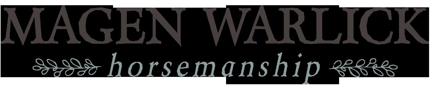 Magen Warlick Horsemanship